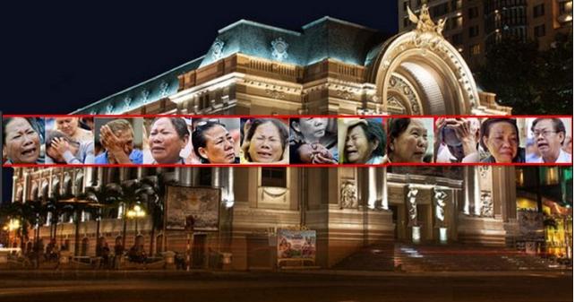 Image result for Xây Nhà hát ngàn tỷ-nỗi đau, sự phẫn nộ của dân  và sự vô cảm cùng cực của quan chức TP.HCM