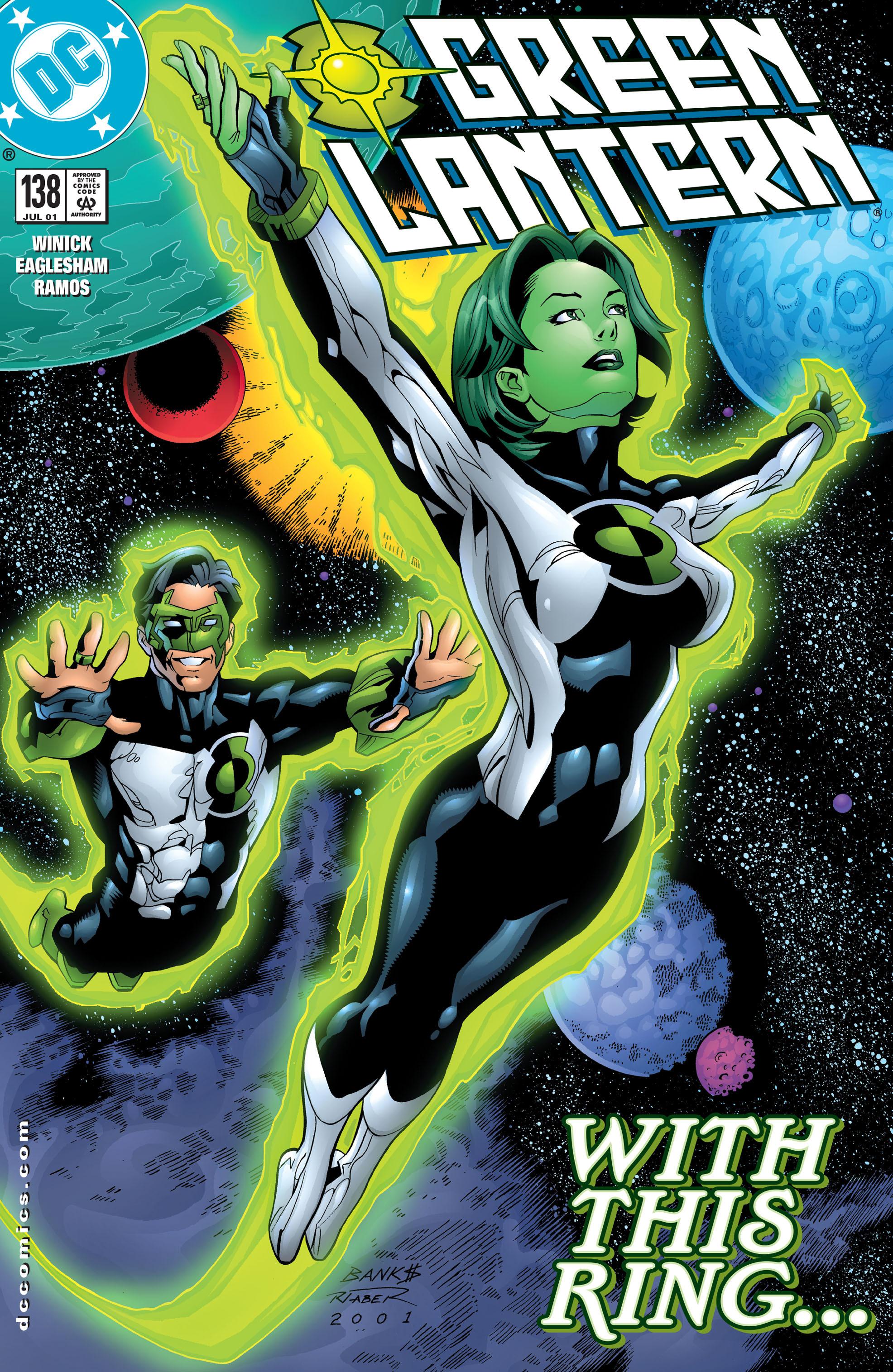 Green Lantern (1990) 138 Page 1