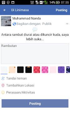 cara buat status facebook pertanyaan 3