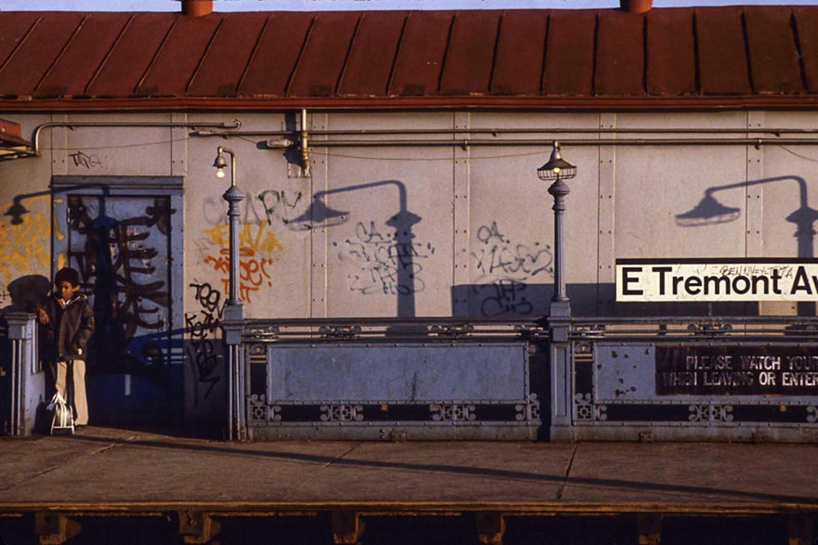 Fotos raras del peligroso sistema de metro de la ciudad de Nueva York, 1970-1980
