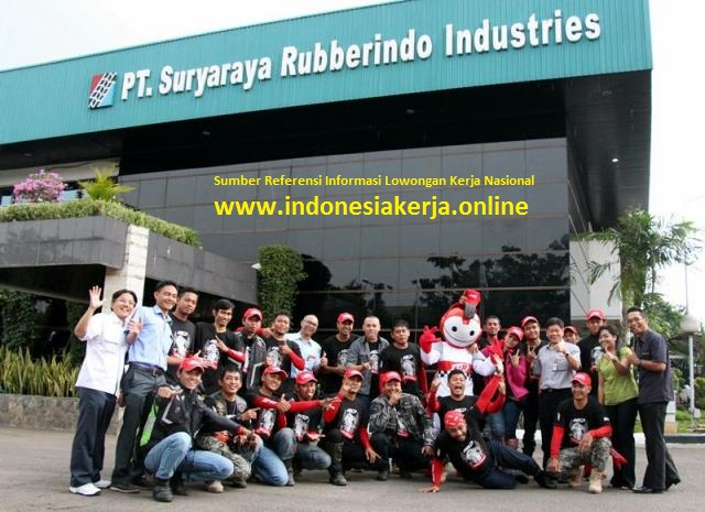 Informasi Lowongan Kerja di PT Suryaraya Rubberindo Industries Cileungsi Bogor (Lulusan SMA/SMK)