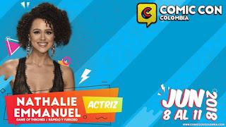 NATHALIE EMMANUEL en la COMIC CON Bogotá No. 1 2018