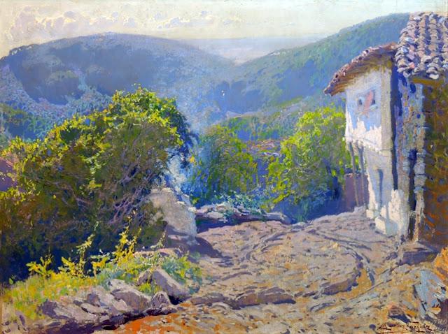 Eduardo Martínez Vázquez, Paisajistas españoles, Paisajes de Eduardo Martínez, Pintor español, Pintores de Ávila, Eduardo Martínez, Impresionismo español