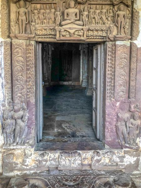 Entrance to the Jain Mandir