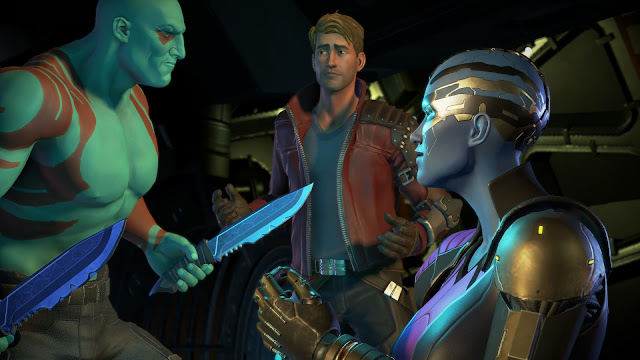 Screenshot from Guardians of the Galaxy a Telltale Series