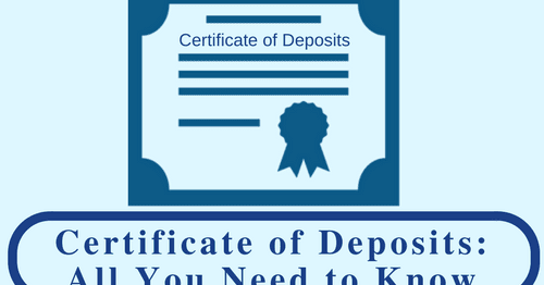 Certificate of Deposits: All You Need to Know   Bank Exams Today