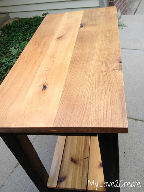 MyLove2Create, Reclaimed Wood Table