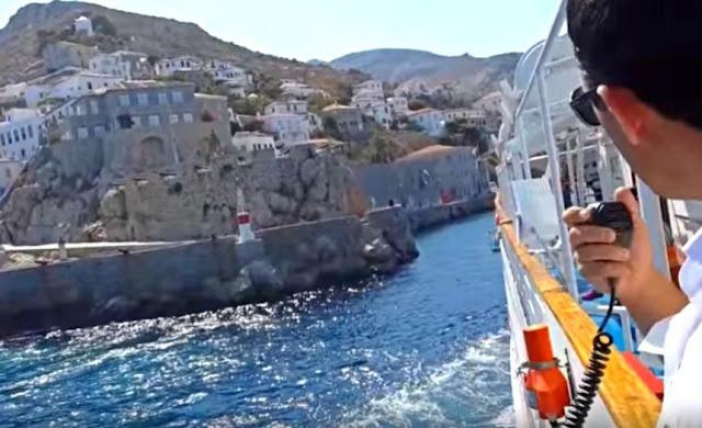 Μηχανική βλάβη πλοίου στην Ύδρα