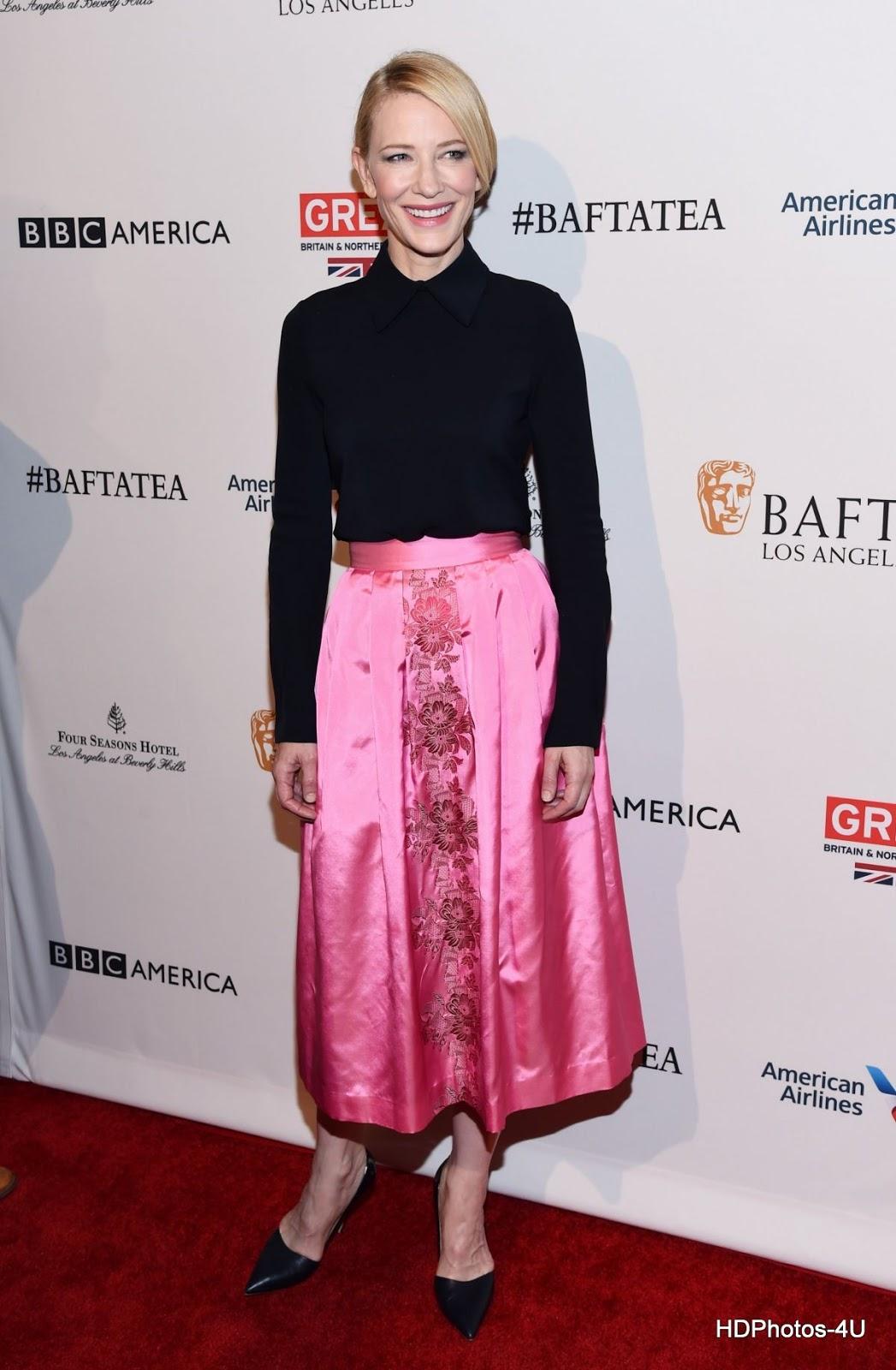 Full HQ Photos of Cate Blanchett at BAFTA Los Angeles Awards Season Tea in Los Angeles