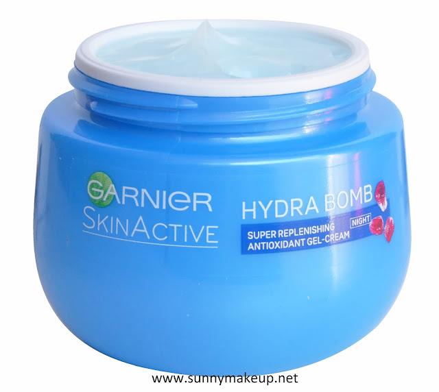 Garnier - Skin Active. Hydra Bomb Gel Crema Notte.