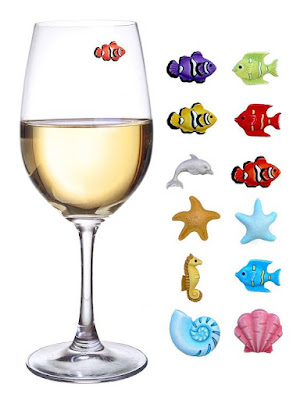 Fish Magnetic Glass Markers