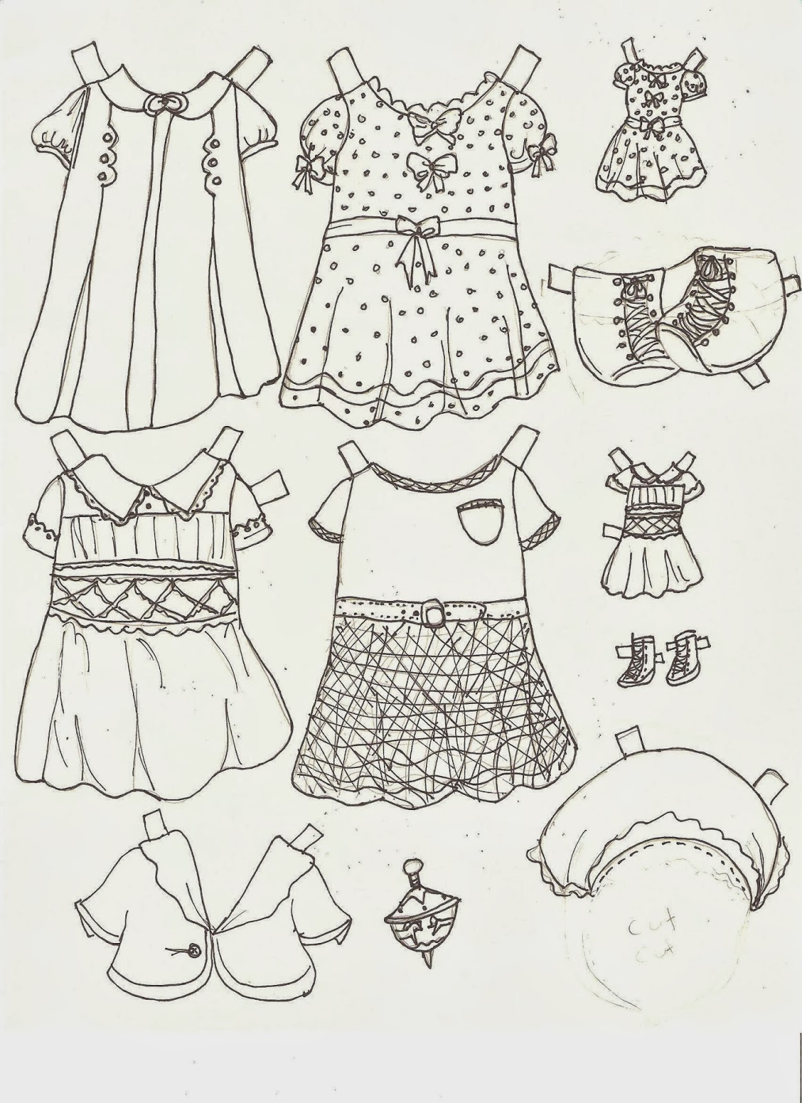 Miss Missy Paper Dolls: Maxine and Mable