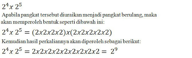 Dalam pelajaran Matematika terdapat materi mengenai pangkat Rumus Rumus Pangkat (Perkalian, Pembagian, Pangkat Nol dan Negatif)