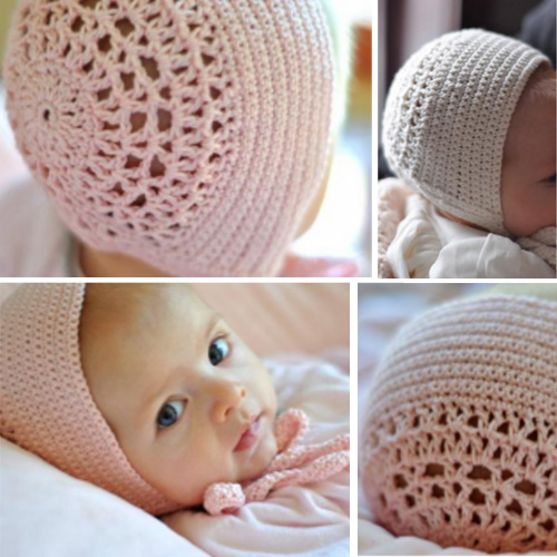 Blessing Day Bonnet - Free Pattern