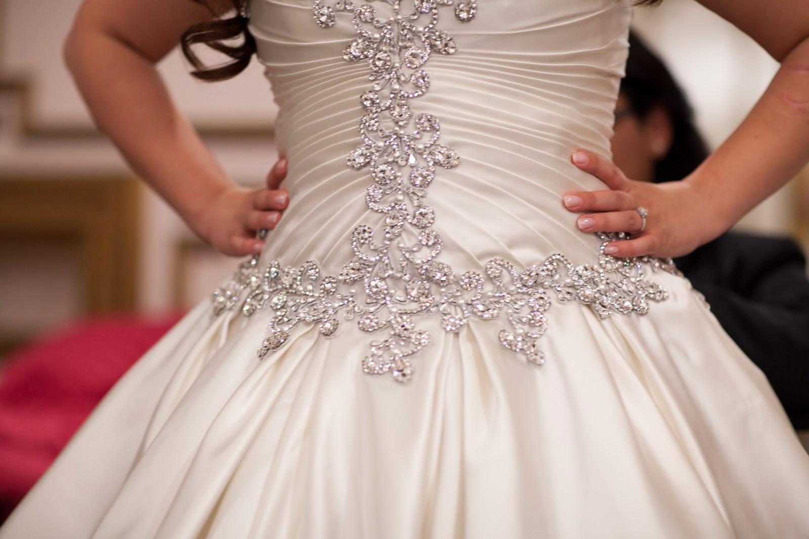 Satin Ball Gown Wedding Dress: Life With Aly: My Wedding