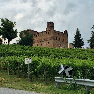 piedmont wine routes in province of cuneo Italy