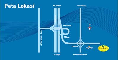 Peta Lokasi Citra Indah City