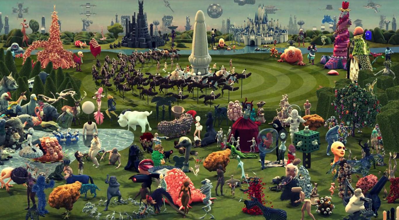 Enroque de ciencia 39 el jard n de las delicias 39 animado for El jardin de las delicias detalles