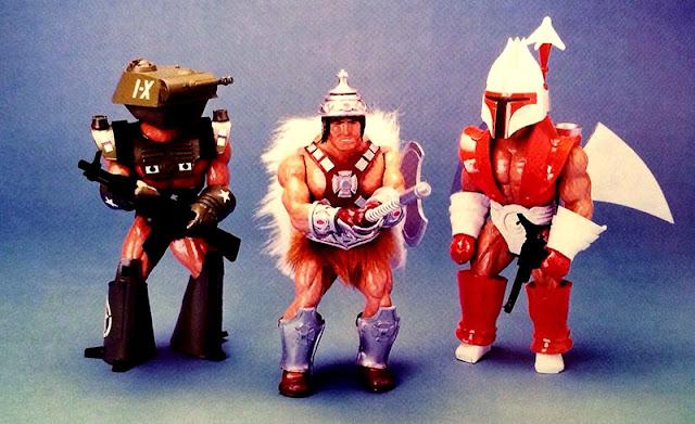 Prototipos He-Man y los Masters del universo