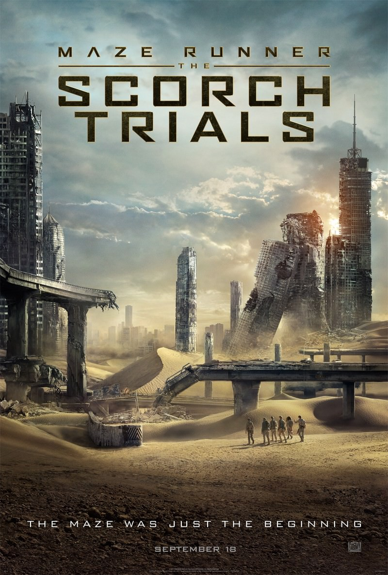 Maze Runner The Scorch Trials 2015 Dual Audio