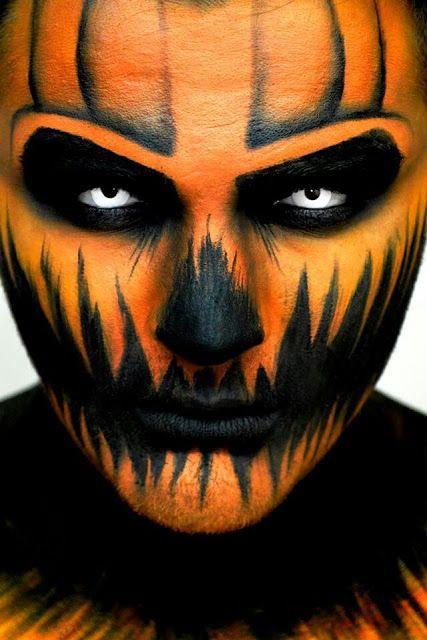 maquiagem masculina halloween