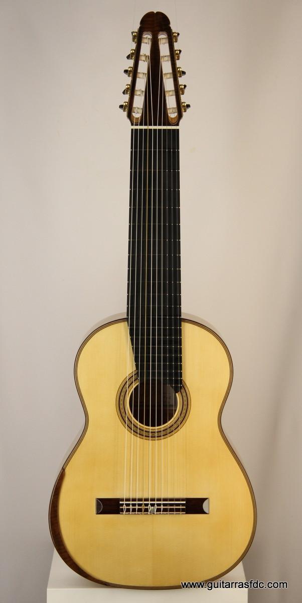luis fern ndez de c rdoba luthier archive guitar no 42 10 string classical. Black Bedroom Furniture Sets. Home Design Ideas