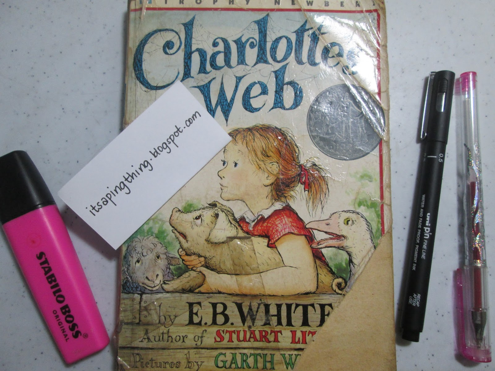it s a ping thing my lazy book review of charlotte s web
