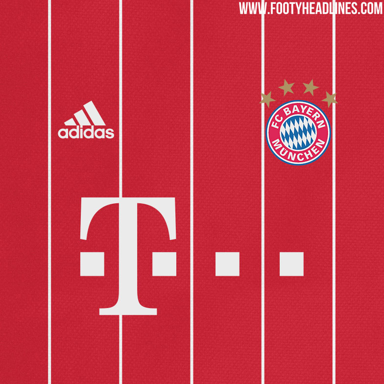 Design München bayern münchen 17 18 home away and third kit designs leaked footy