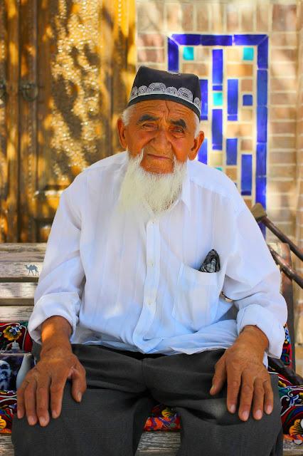 Le Chameau Bleu - Vieux Ouzbek - Gijduvan