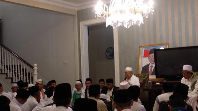 Ulama dan warga NU se-Jakarta Pusat Deklarasi Dukungan kepada KH Ma'ruf Amin