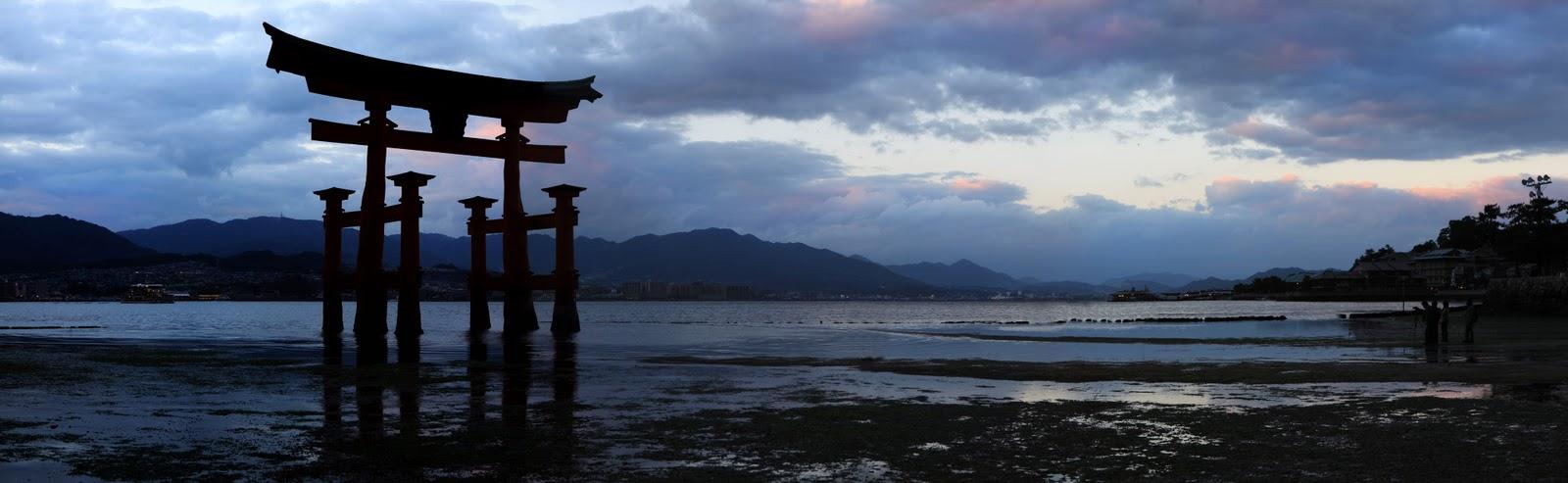 Japanese Wallpapers Itsukushima Torii Gate Special Domo Kun