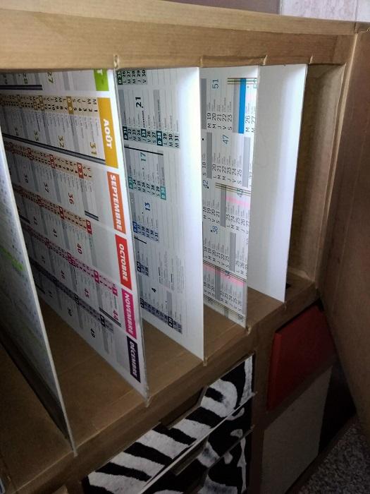 cloisons en carton pour bureau en carton
