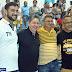 Prefeito Tulio Lemos, comemora o sucesso do 46° campeonato de blocos 2017