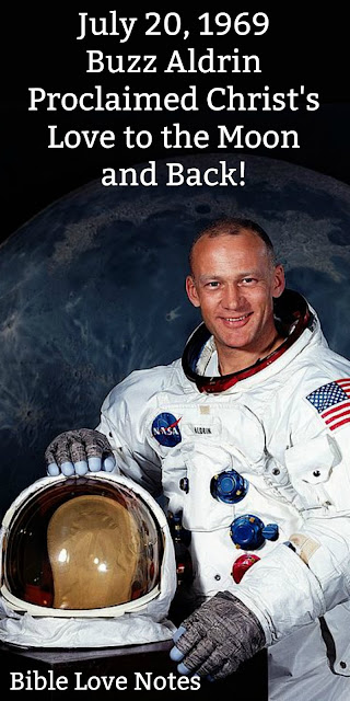 To the Moon and Back - Buzz Aldrin's Lunar Communion With Jesus