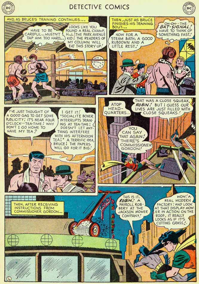 Read online Detective Comics (1937) comic -  Issue #174 - 8