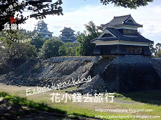 2016年熊本地震後的熊本城