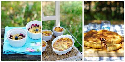 Photos de recettes d'été à la campagne