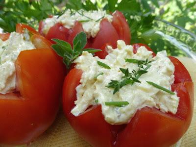 Stuffed Tomatoes (Chicken Salad)