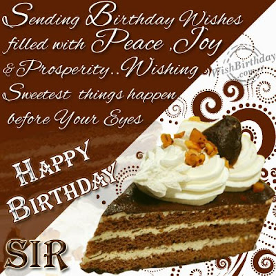 Happy Birthday wishes For Boss: sending birthday wishes filled with peace,