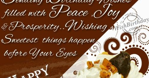 Top 31 Images Of Birthday Wishes For Boss Wishes Quotes Wish You Happy Birthday Sir