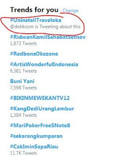 Dukung Ananda Lecehkan Anies Baswedan, Boikot dan #UninstallTraveloka Trending