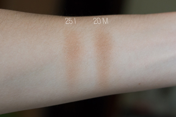 make up for ever mufe pro bronze fusion 20m 25i swatches review