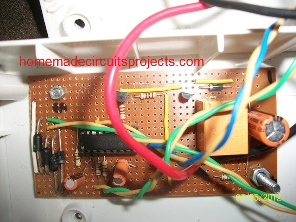 PCB assembly component side image
