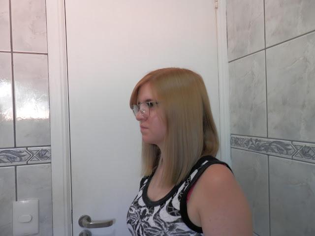 usando creme de pentear em cabelos lisos
