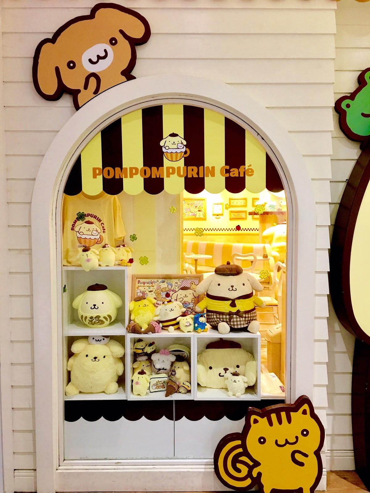Pompompurin Cafe Japan