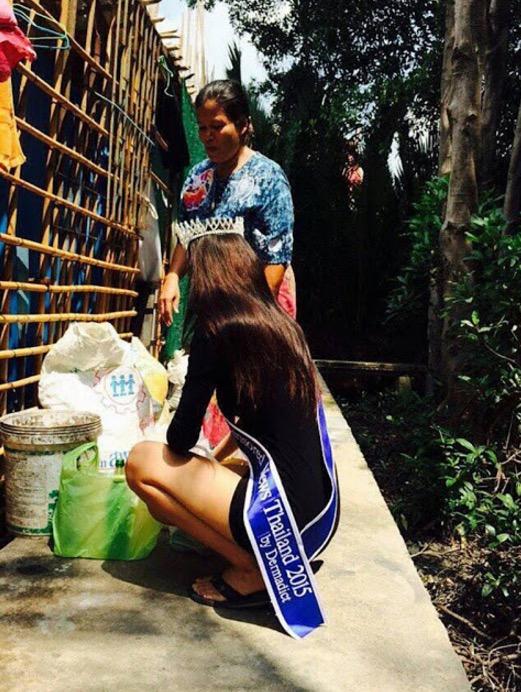 Ratu Cantik Anak Pengutip Sampah