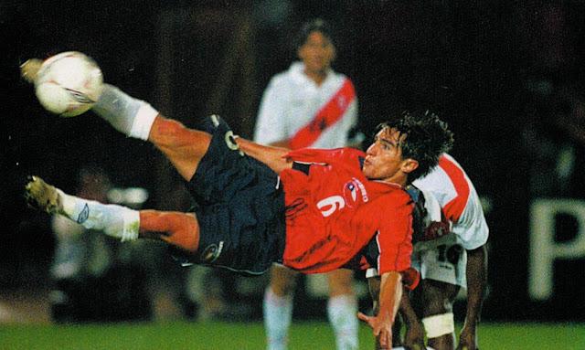 Chile y Perú en partido amistoso, 30 de marzo de 2003