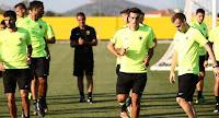 Η αποστολή των παικτών της ΑΕΚ για το ματς της Δευτέρας με τον Ηρακλή