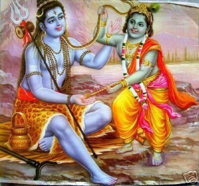 IKrishna Wallpaper with Lord Shiva