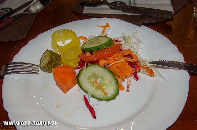 Salad - Korab Trnica Complex - Mavrovo National park - Macedonia